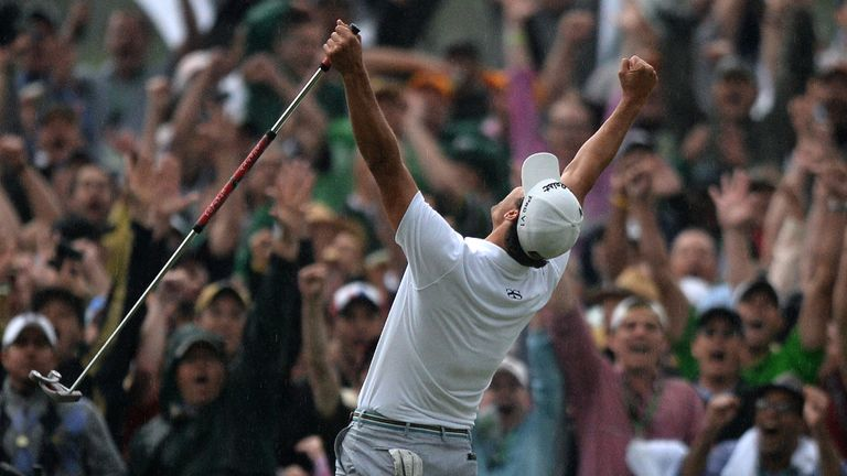 Adam Scott wins the Masters - and the majors championship