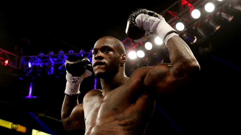 Deontay Wilder: Stopped Audley Harrison in the first round in Sheffield