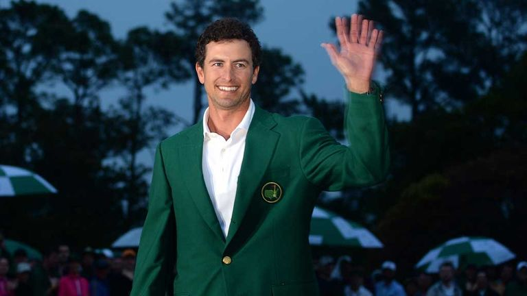 Adam Scott: First major, and first Australian to win at Augusta