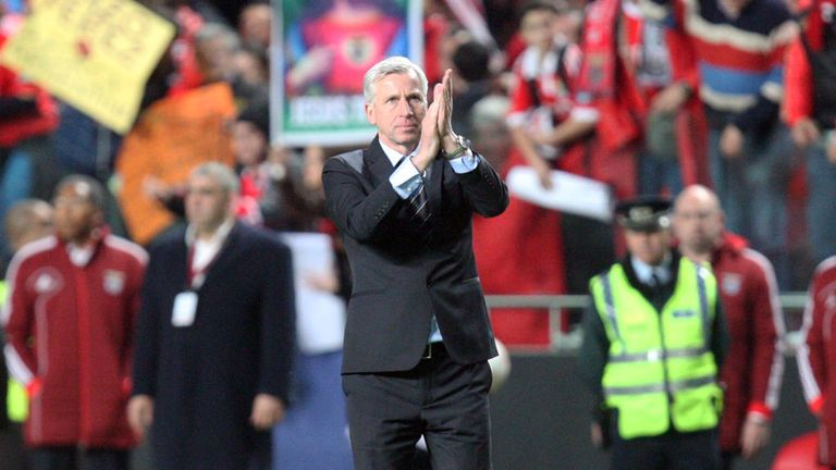 Alan Pardew: Admits Newcastle are facing an uphill task