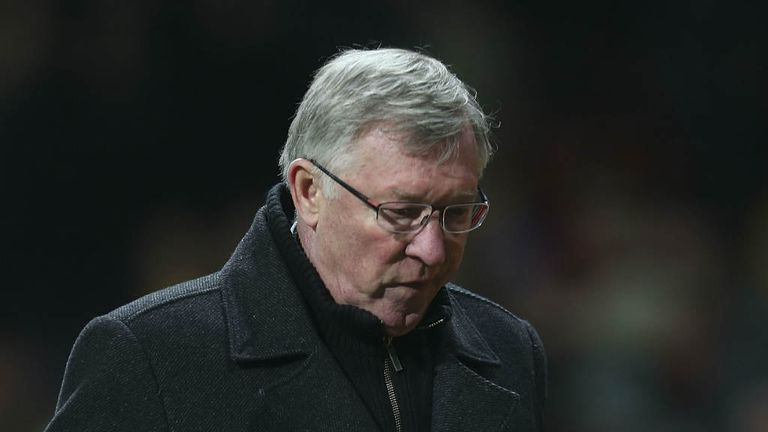 Sir Alex Ferguson: Felt Manchester United were unlucky against Manchester City