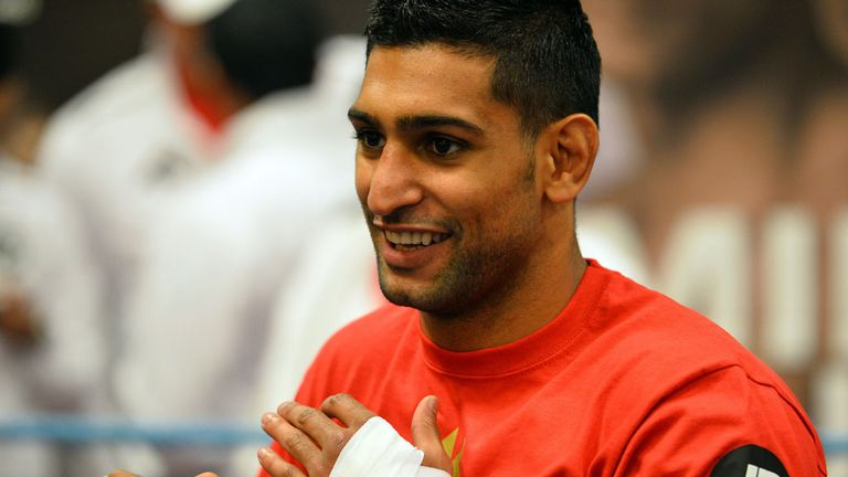 Khan: his speed could prove key at welterweight, says Glenn