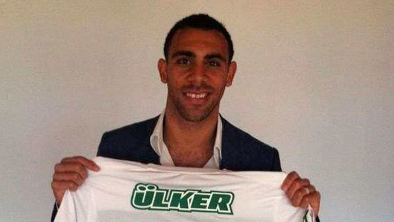 Anton Ferdinand: Loving life at Bursaspor. Picture courtesy of @anton_ferdinand
