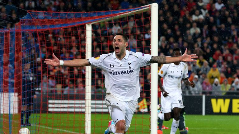 Clint Dempsey: Tottenham man targeting Champions League spot