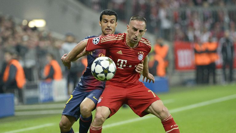 Franck Ribery: Would be happy to stay at Bayern Munich