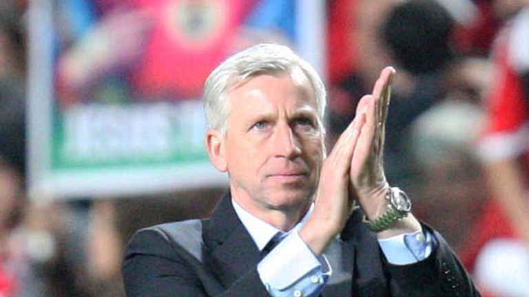 Alan Pardew: Newcastle boss has called on his side to match Barcelona