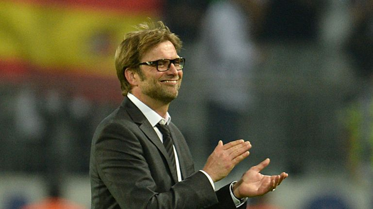 Jurgen Klopp: Borussia Dortmund coach is under contract until 2016