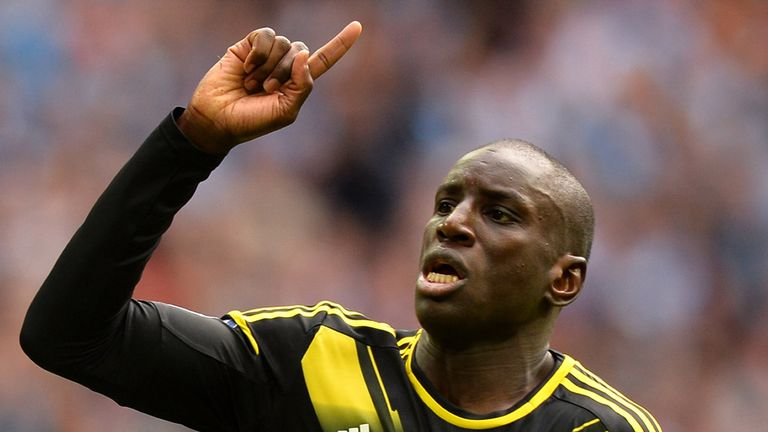 Demba Ba: Dropped by Senegal