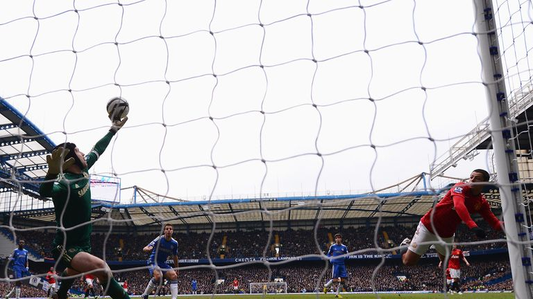 Petr Cech: Remarkable save helped Chelsea into the FA Cup semi-finals
