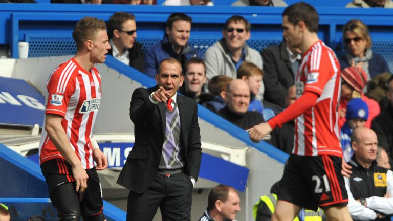 Paolo Di Canio: Sunderland were beaten by Chelsea in his first match in charge