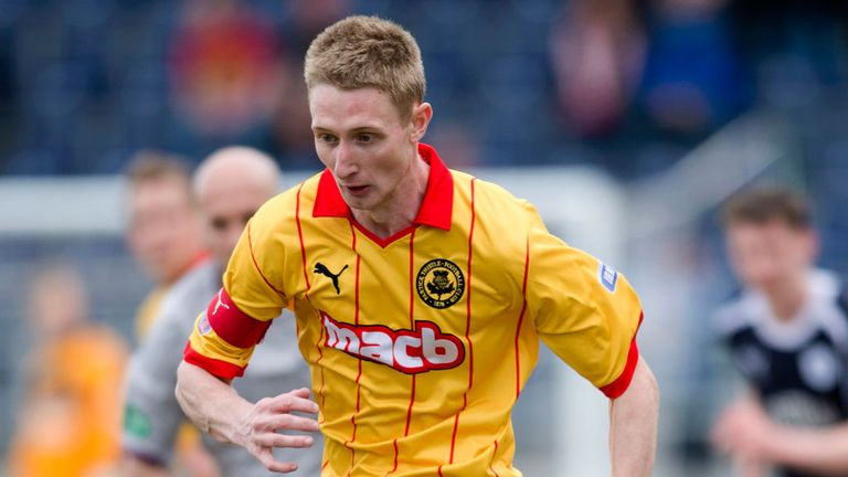 Chris Erskine set for summer move to Dundee United