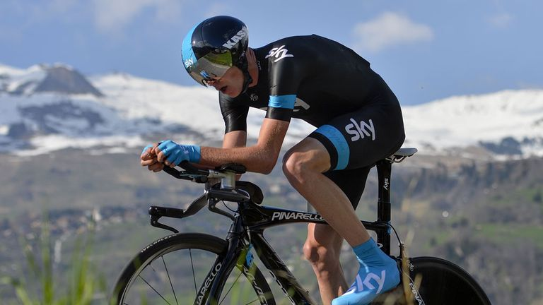 Chris Froome laid down a marker with a superb prologue performance