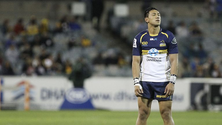 Christian Leali'ifano: confident of shining with the boot