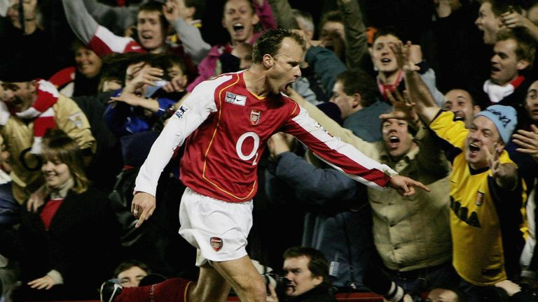 Dennis Bergkamp: Statue to be unveiled at Emirates Stadium on February 22