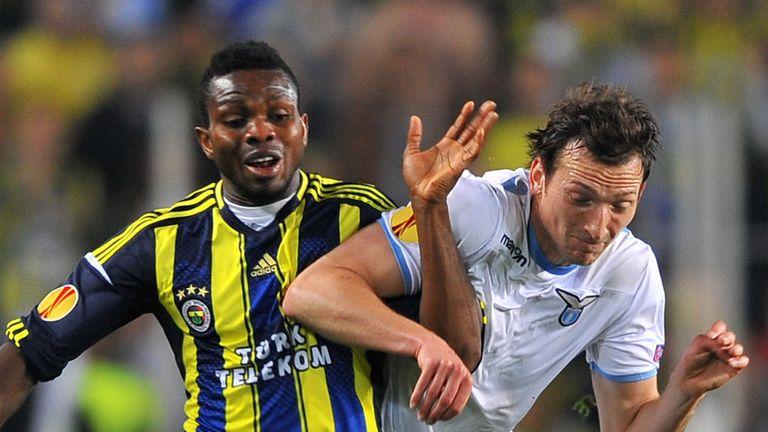 Moussa Sow: Tangles with Lazio's Libor Kozak
