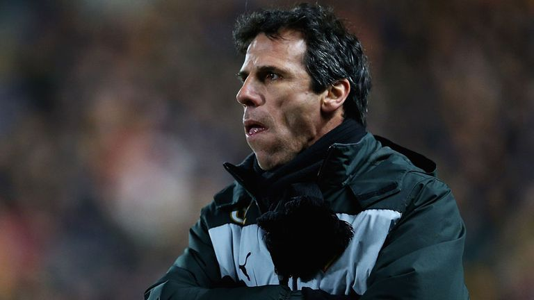 Gianfranco Zola: Watford are pushing hard for automatic promotion