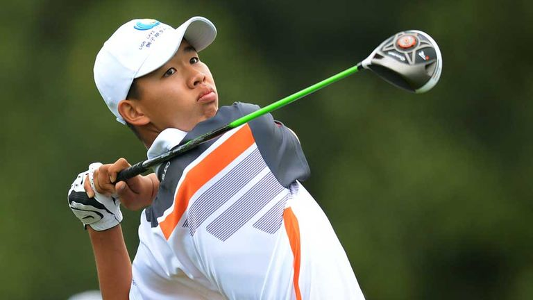 Guan Tianlang: Tired after a memorable week at Augusta
