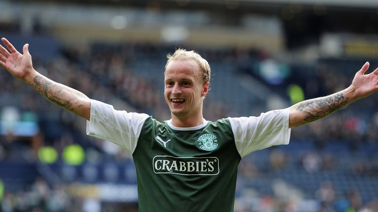 Leigh Griffiths: The Hibs striker continues his rich vein of form