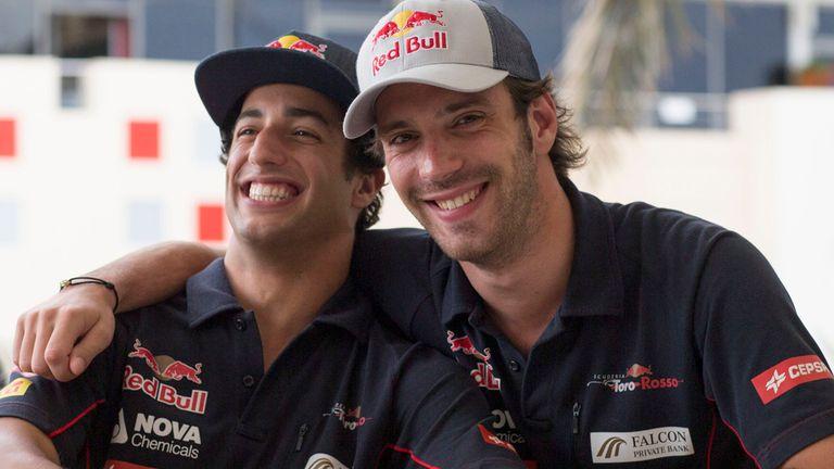 Candidates: Daniel Ricciardo and Jean-Eric Vergne