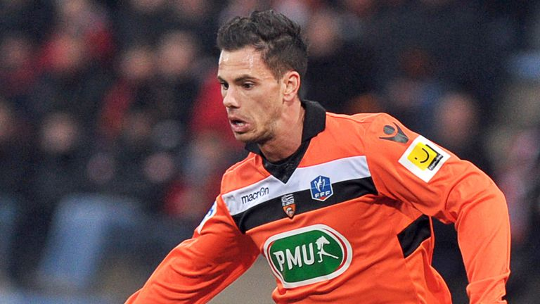 Jeremie Aliadiere: Lorient are prepared to let the striker go for the right price