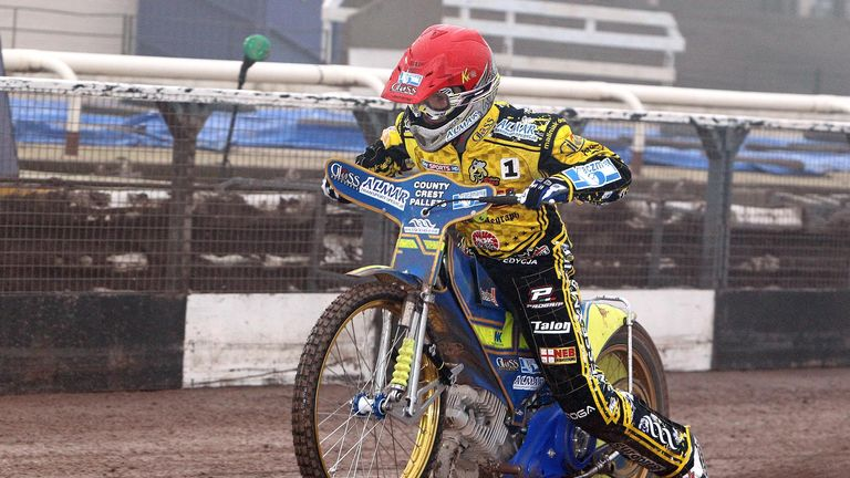Krzysztof Kasprzak: Top scored for Coventry (PIC CREDIT Jeff Davies)