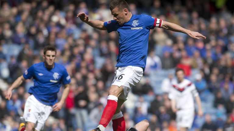 Rangers captain Lee McCulloch put the hosts ahead early on