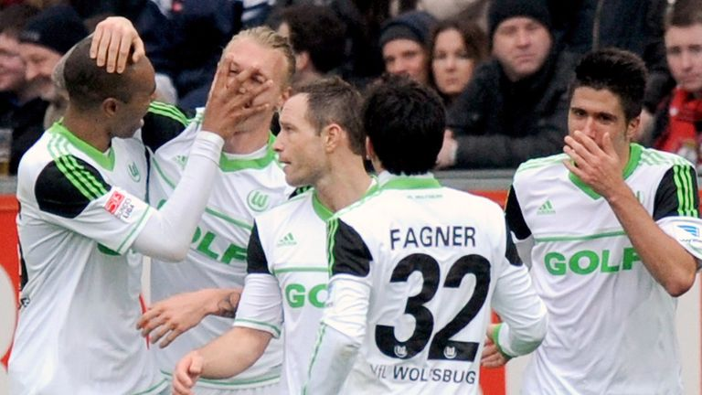 Simon Kjaer (middle left): The defender could be set for a Wolfsburg exit