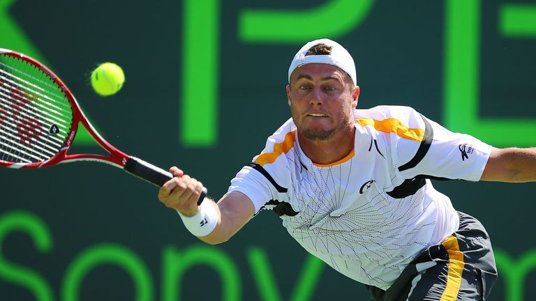 Lleyton Hewitt: Felt below-par during Houston defeat.