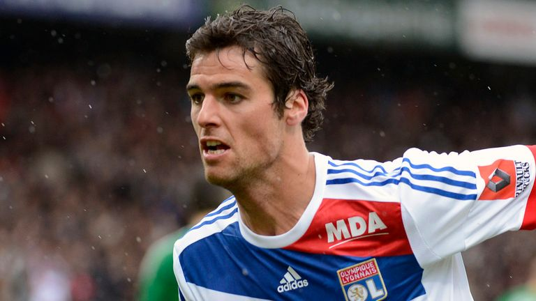 Yoann Gourcuff: On his way back from injury
