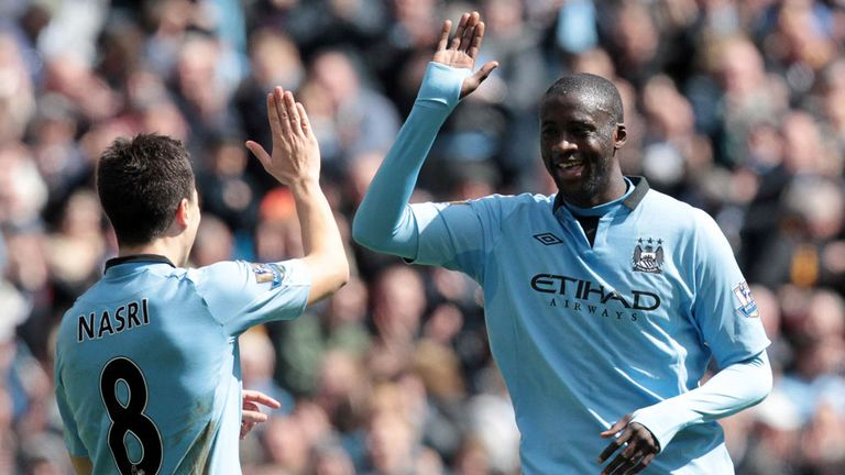 Yaya Toure: New deal will keep him at Manchester City until 2017