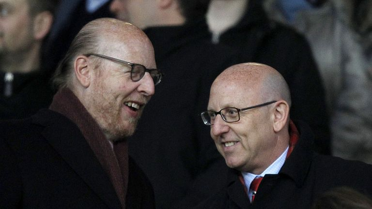 Avram Glazer (left) and Joel Glazer: Both have heaped praise on Sir Alex Ferguson