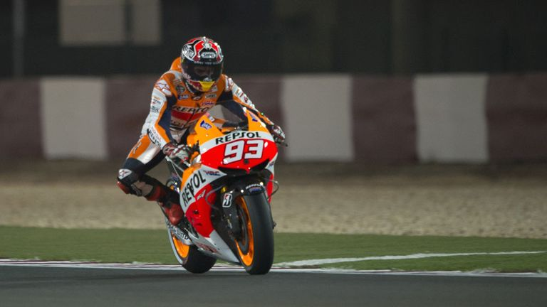 Marc Marquez: Takes pole in Austin