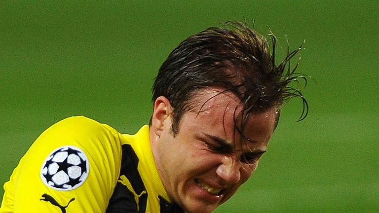 Mario Gotze: Disappointed he didn't score for Borussia Dortmund