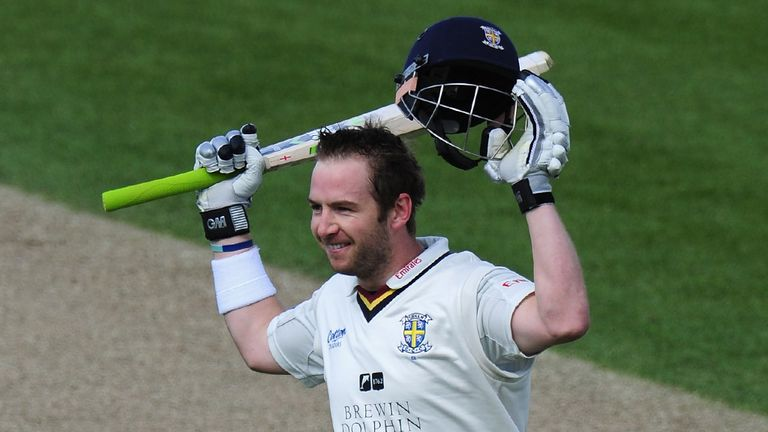 Mark Stoneman: Has signed a new contract with Durham along with team-mate Mark Wood