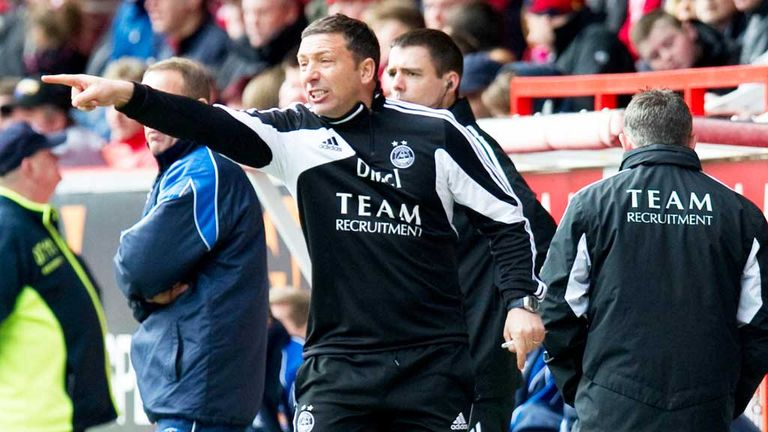 Derek McInnes: Delighted with his side's battling qualities