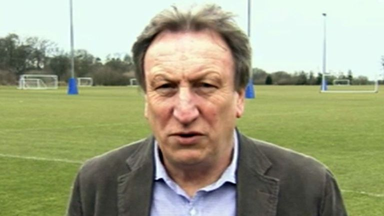 Neil Warnock: A dig at Mark Hughes