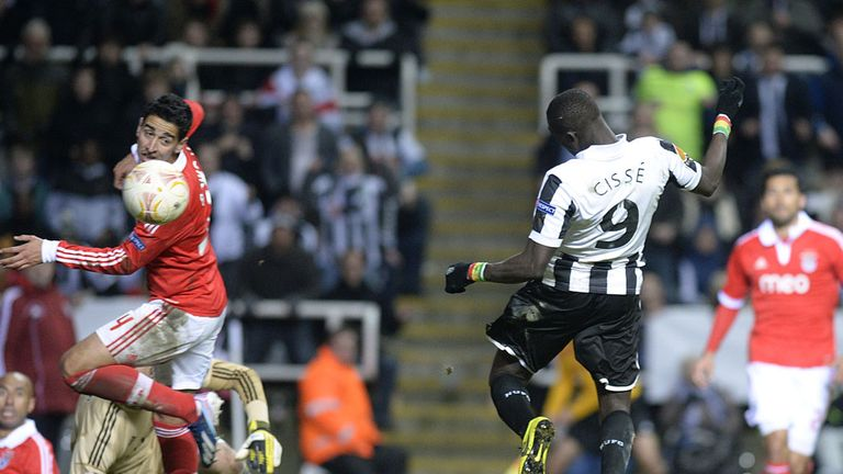 Papiss Cisse: Craves a central striking role this season