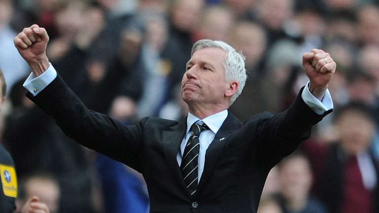 Alan Pardew: Feels the Premier League needs both north-east clubs
