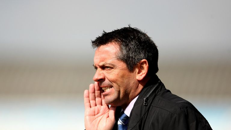 Phil Brown: Furious with defeat