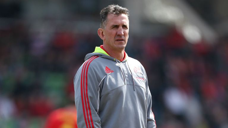 Rob Penney: Says Munster need to go up another level on Saturday