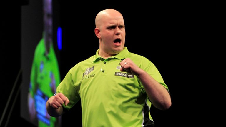 Michael van Gerwen: Dutchman faces Raymond van Barneveld and Adrian Lewis