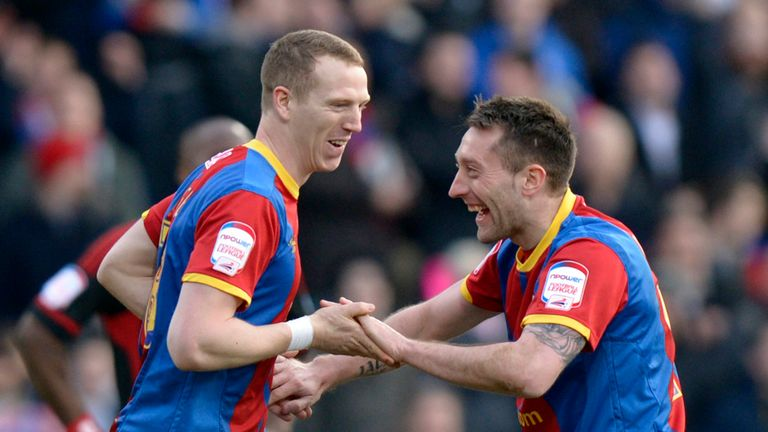 Stephen Dobbie (right): Ineligible for Palace against Brighton