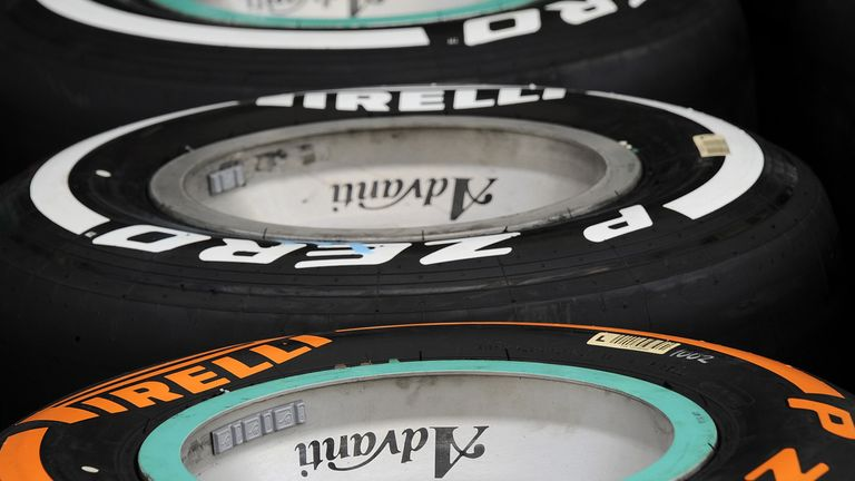 Hard tyres: A new look orange-marked compound from Spain