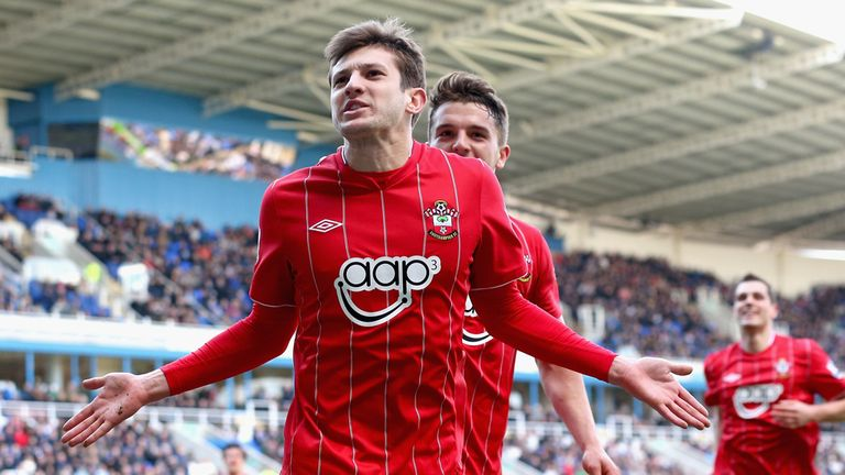 Adam Lallana: Scored Southampton's second goal at Reading