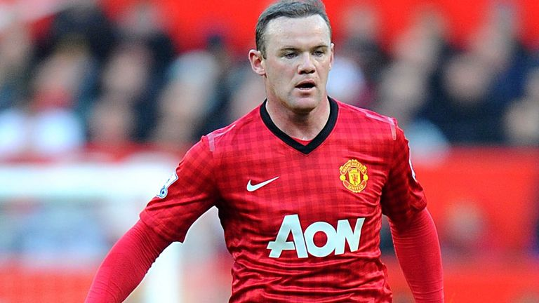 Wayne Rooney: The United striker requested a transfer at the end of last season