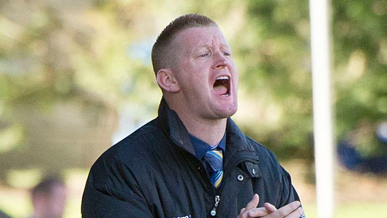 Steve Lomas: Saints boss eyeing a Europa League spot