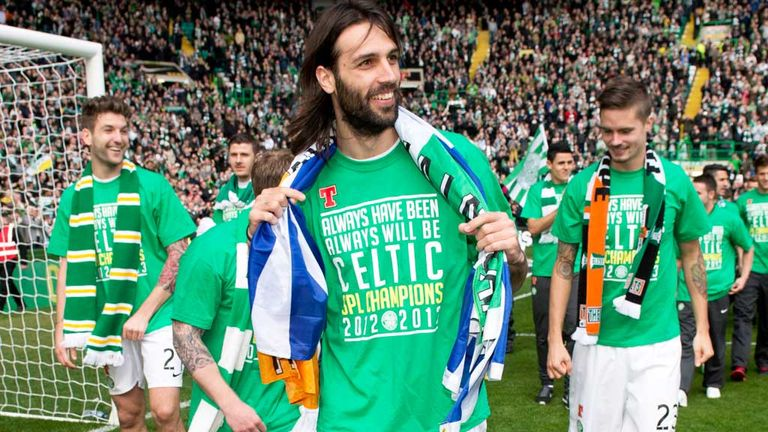 Georgios Samaras: Has become a key part of the Celtic team