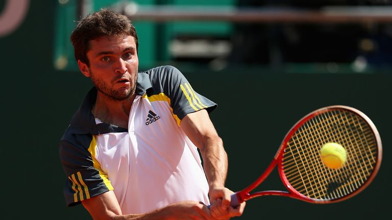 Gilles Simon: Frenchman will take on Lukas Rosol in the last four