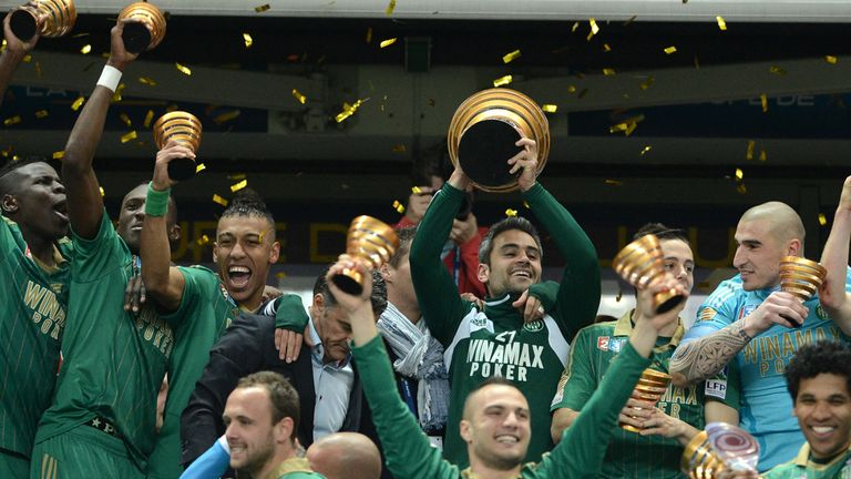 St Etienne: French Cup winners next face Lyon