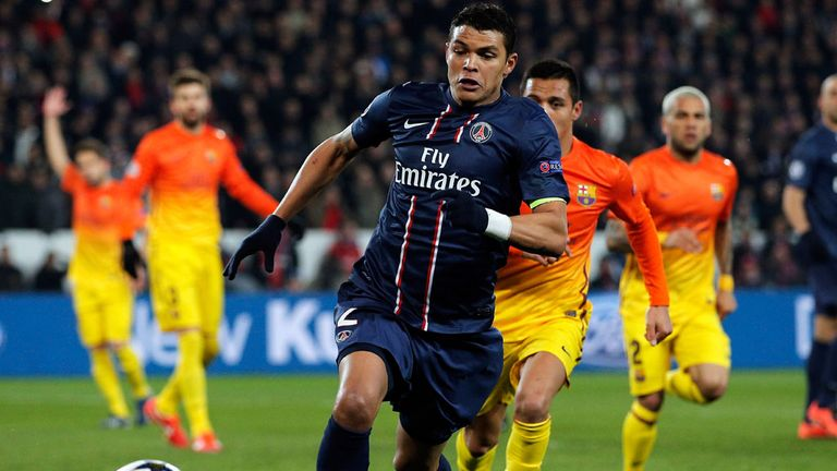 Thiago Silva: PSG defender being chased by Barcelona